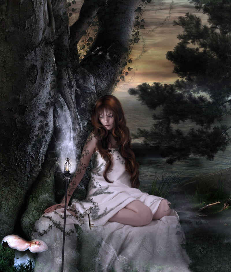 The_Priestess_by_aselclub deviantART